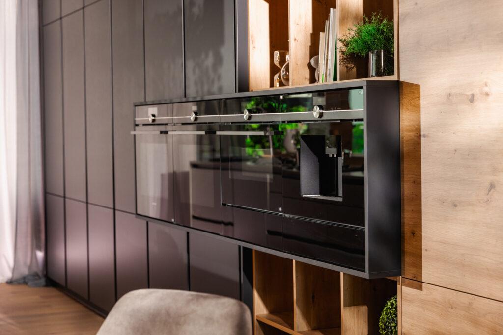 Moderne Küche Silbermond